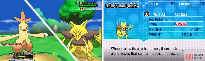 Kadabra is weak to Ghost and Dark moves.