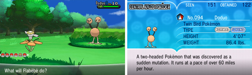 Electric, Rock or Ice moves will stop Doduo in its tracks.