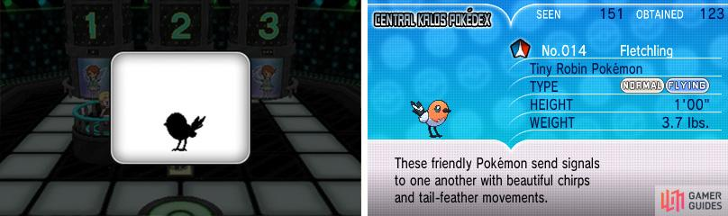 The answer to this question is: Fletchling