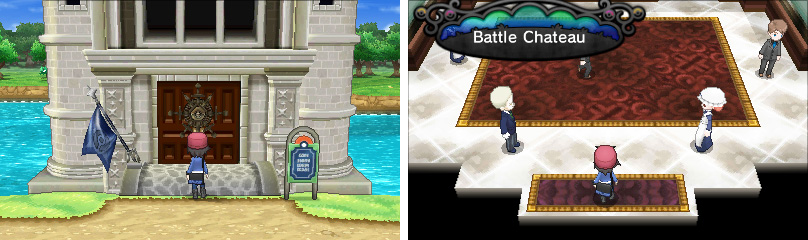 The Battle Chateau is found early in the game while going along Route 7.
