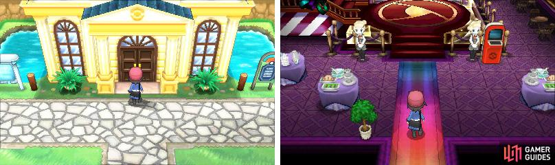 The Battle Maison is for advanced players wishing to hone their battling skills.