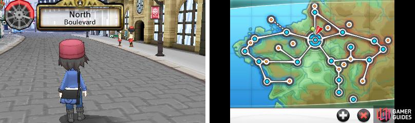 In the distance, you may notice Lumiose Station.