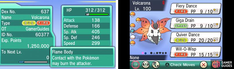 Volcarona's Sp. Attack is through the roof.