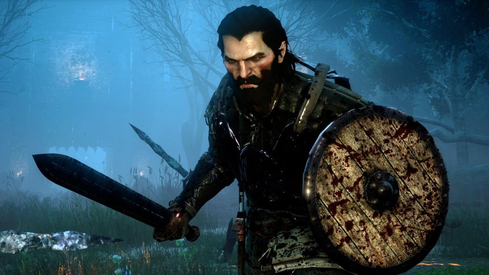 Dragon Age Inquisition: Meeting Blackwall - YouTube