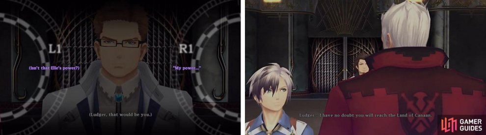 The truth about Ludger's power is revealed and Bisley puts his faith in Ludger.