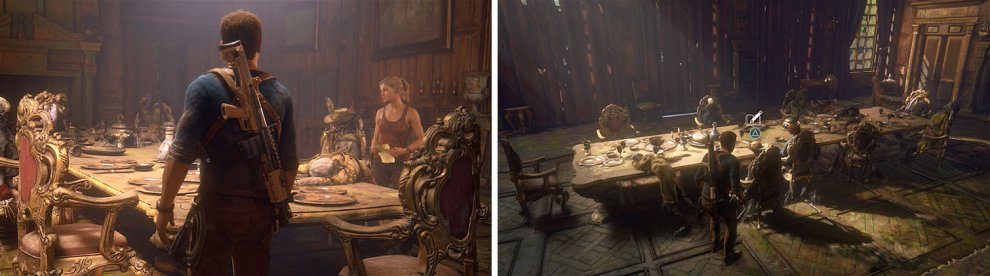 After the cutscene, examine the table for the final journal entry.