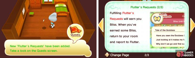 Help Flutter see the world and earn Bliss while you do so!